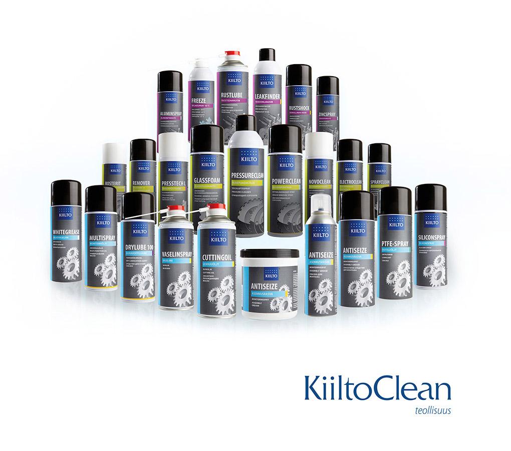 KiiltoClean aerosoliryhmä